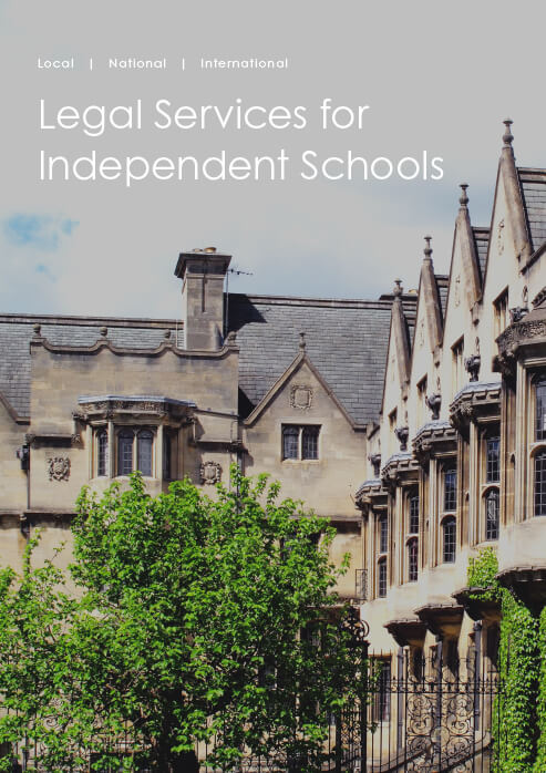 Legal Services for Independent Schools