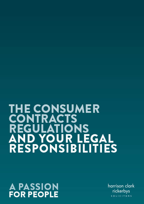 The Consumer Contracts Regulations