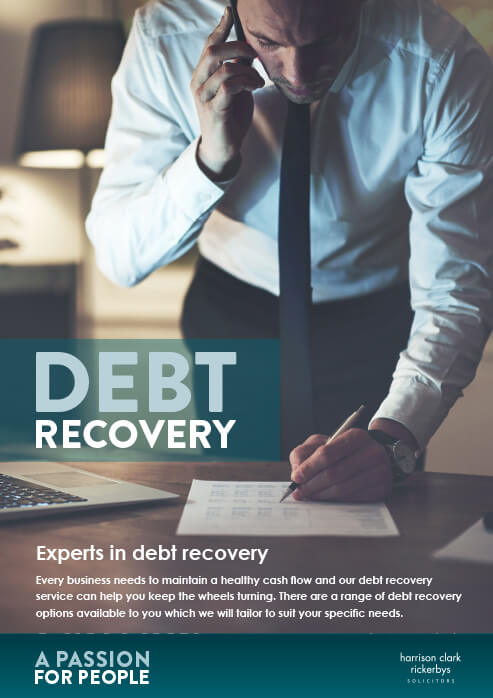 Debt Recovery Services brochure