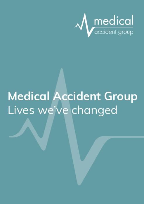 Medical Accident Group (Lives we've changed) Brochure