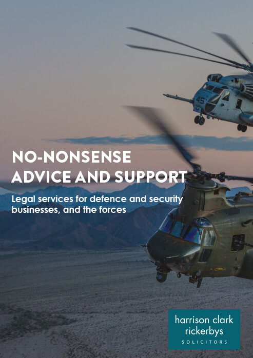 Defence, Security and the Forces brochure