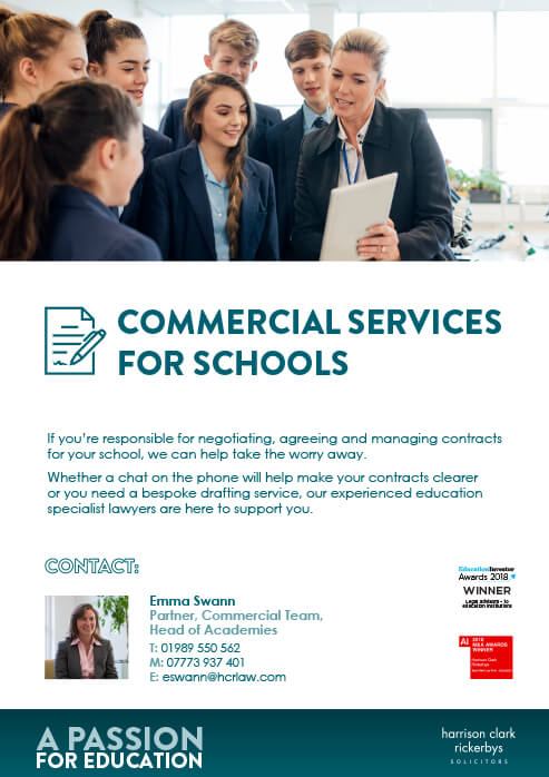 Commercial Services for Schools