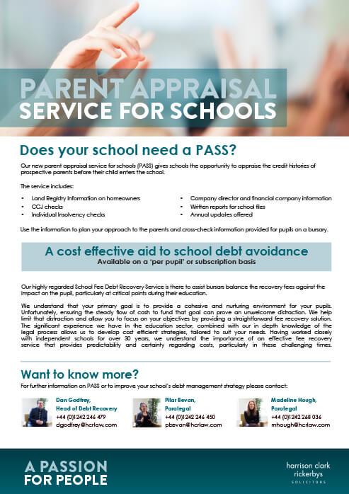 Parent Appraisal Service for Schools