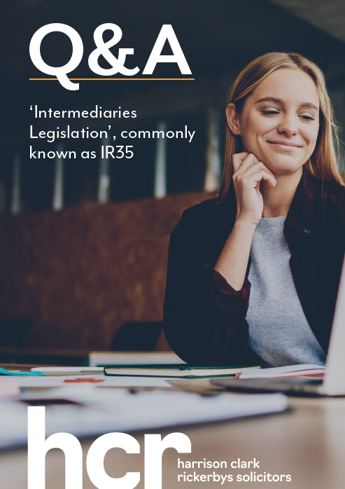 Q&A 'Intermediaries legislation' commonly known as IR35