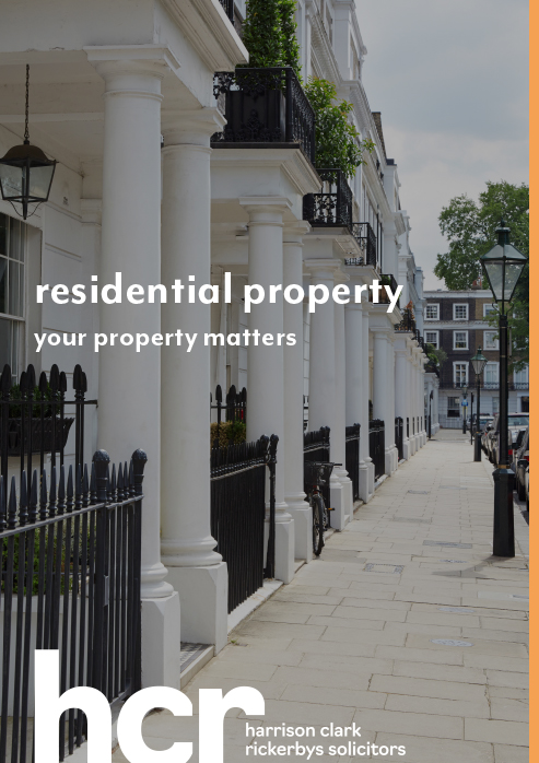 Residential Property – Your Property Matters